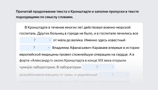 Пример задания по русскому языку для 5–6-го класса